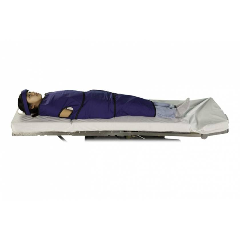 Radiolucent Papoose Board MRI Safe - Large (6-12 Years Old)