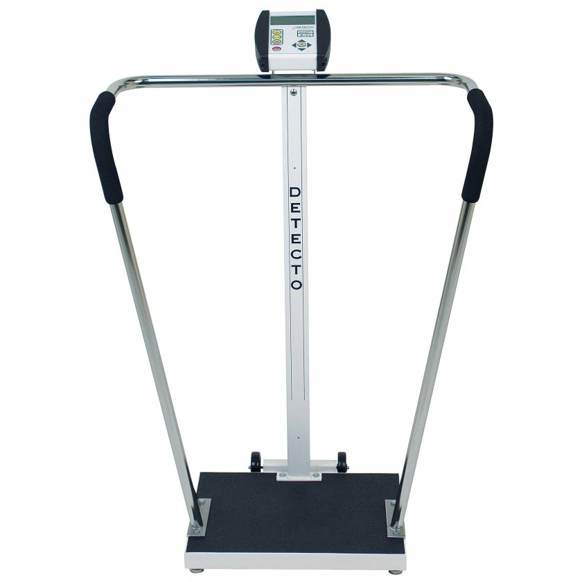 Digital Waist-High Stand-On Scale