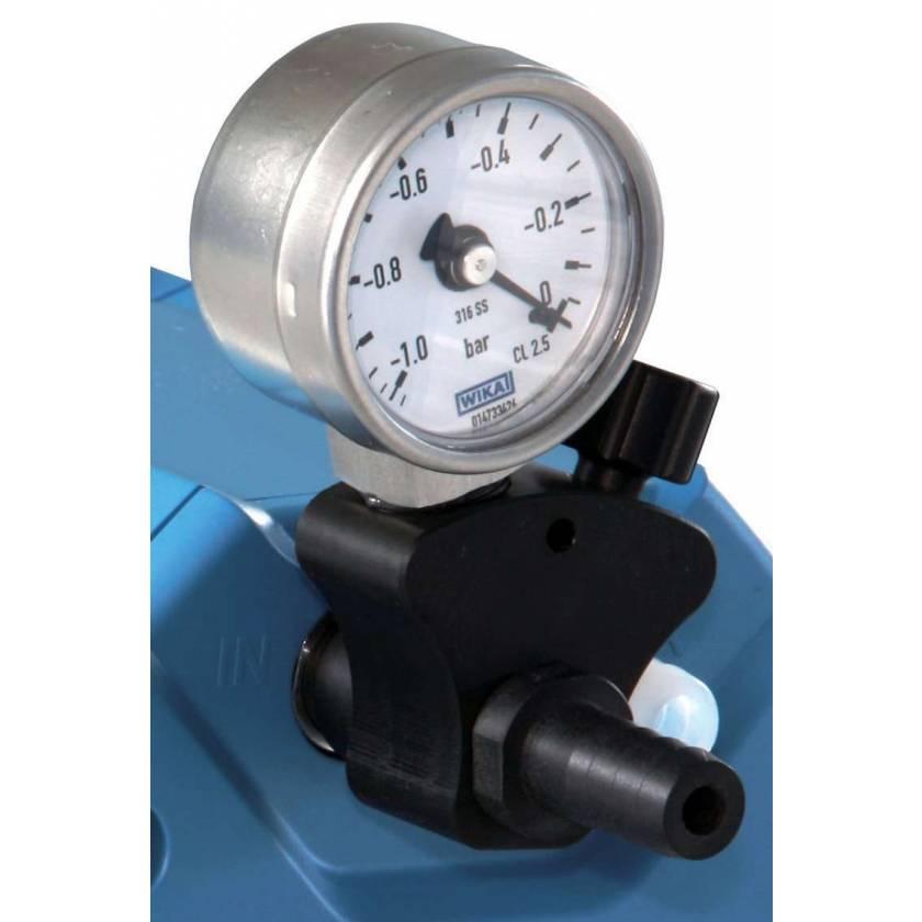BrandTech VACUUBRAND Vacuum Regulation Valve with Manometer for ME1C Diaphragm Pump
