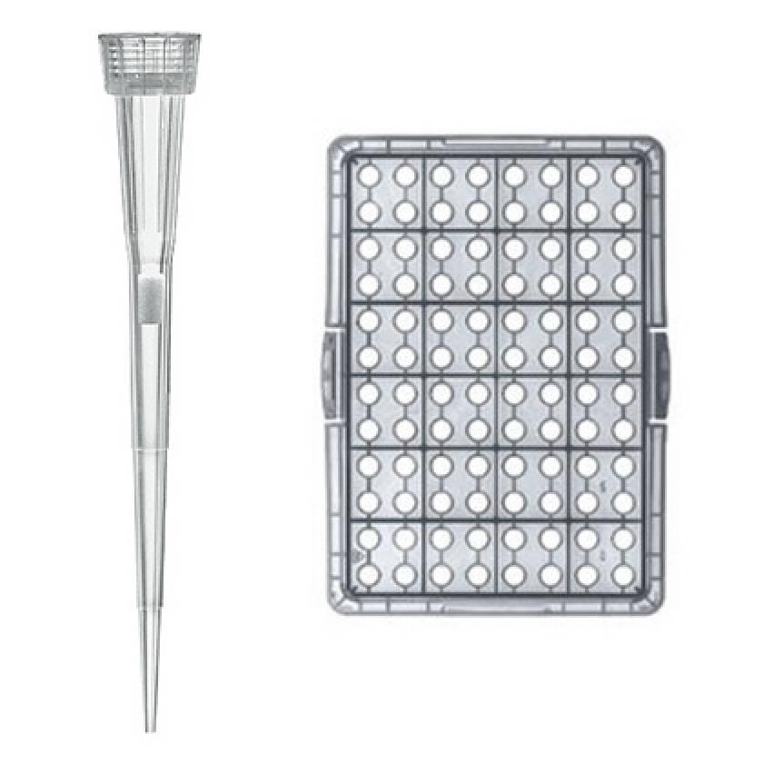 BRAND Bio-Cert Sterile Ultra Low Retention Filter Pipette Tip-Box 0.5-10uL