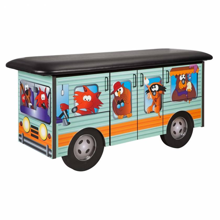 Clinton Model 7050 Fun Series Pediatric Treatment Table - Cool Camper