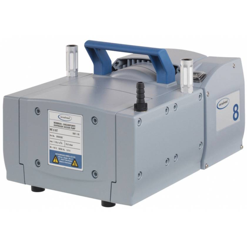 BrandTech VACUUBRAND ME8 NT Diaphragm Vacuum Pump 120V 50-60Hz