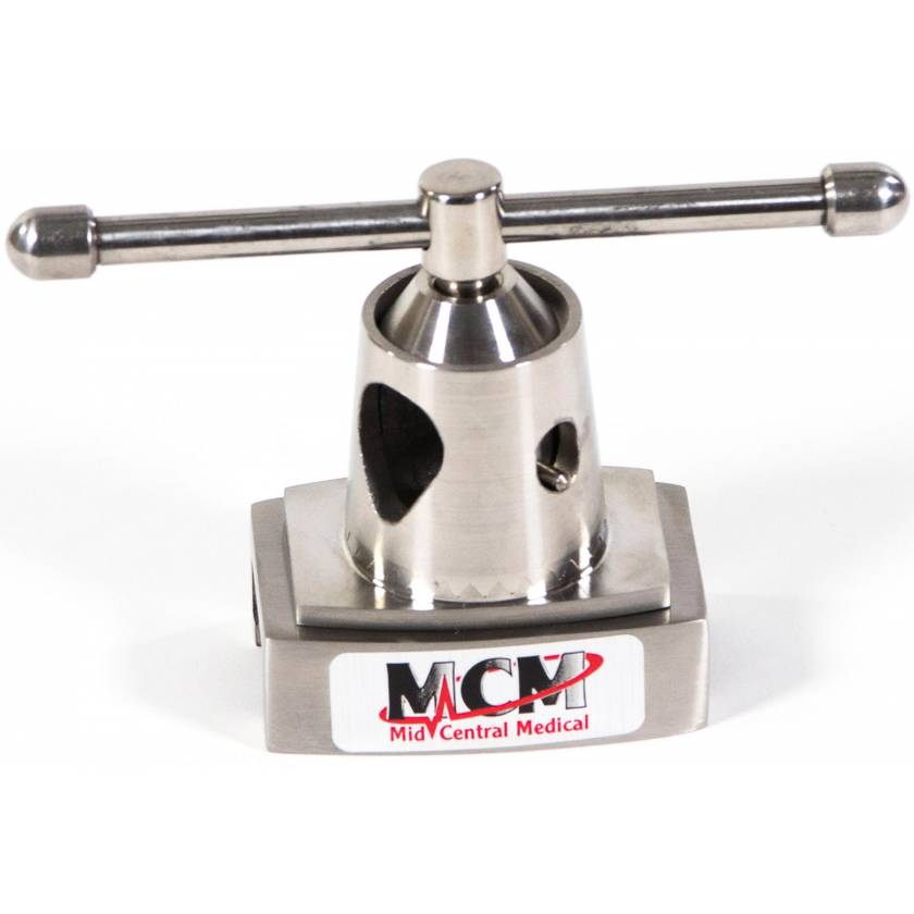 "Traditional Stainless Steel Clark Socket - Fits up to 11/16"" Round Post"