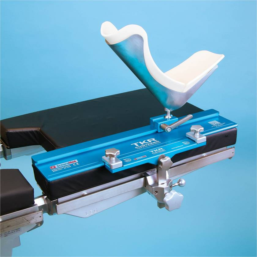 """SchureMed 800-0141 TKR Positioner for Total Knee Replacement with 24""""L Track System"""