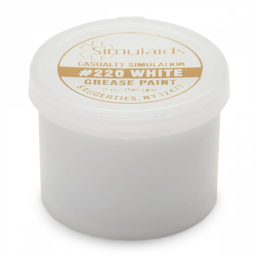 Life/form Moulage Grease Paint - 2 oz. - White