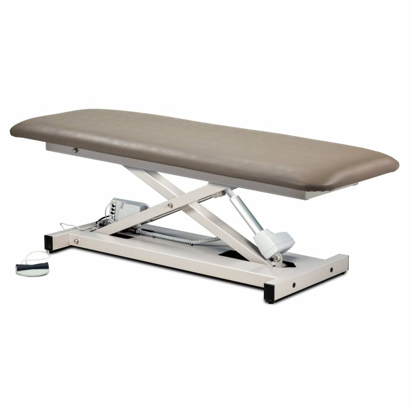 Clinton Open Base Power Table with One Piece Top Model 80100
