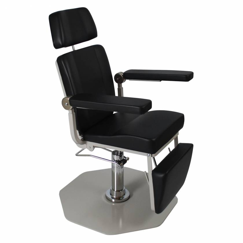 Model 8612 ENT Chair with Foot Operated Pump (shown with option Alarticulating Headrest)