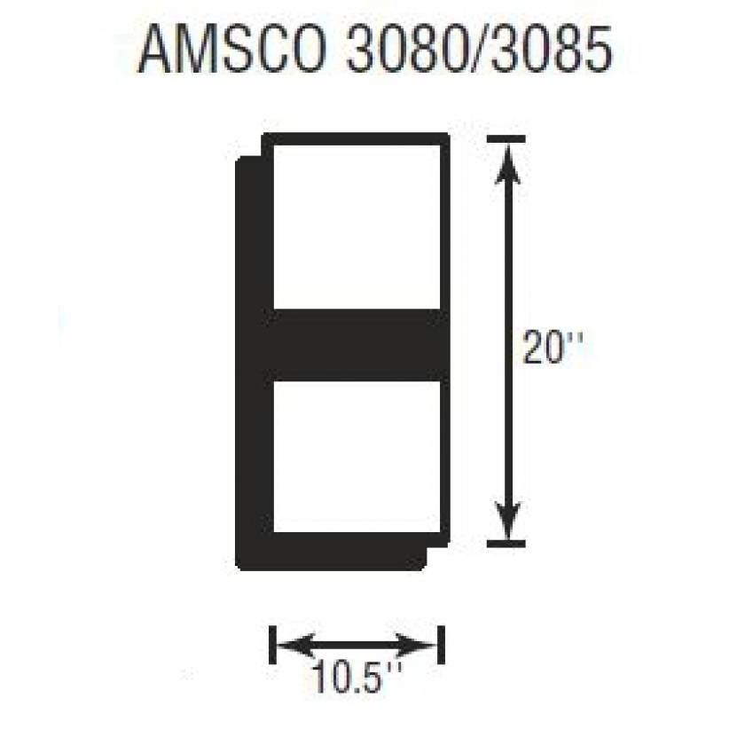 "Amsco 3080/3085  Softcare Head Section 3"" Thick"