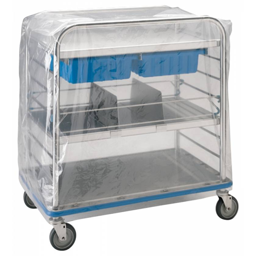 Pedigo Disposable Clear Cart Cover (Roll of 100) for CDS-147 Distribution Cart