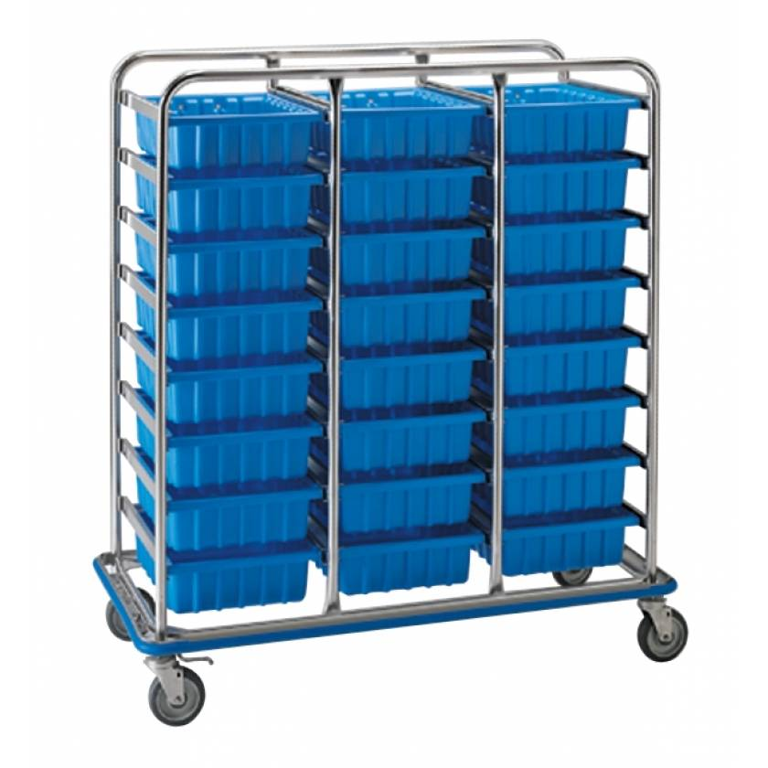 Pedigo Tote Box Supply Cart - Large