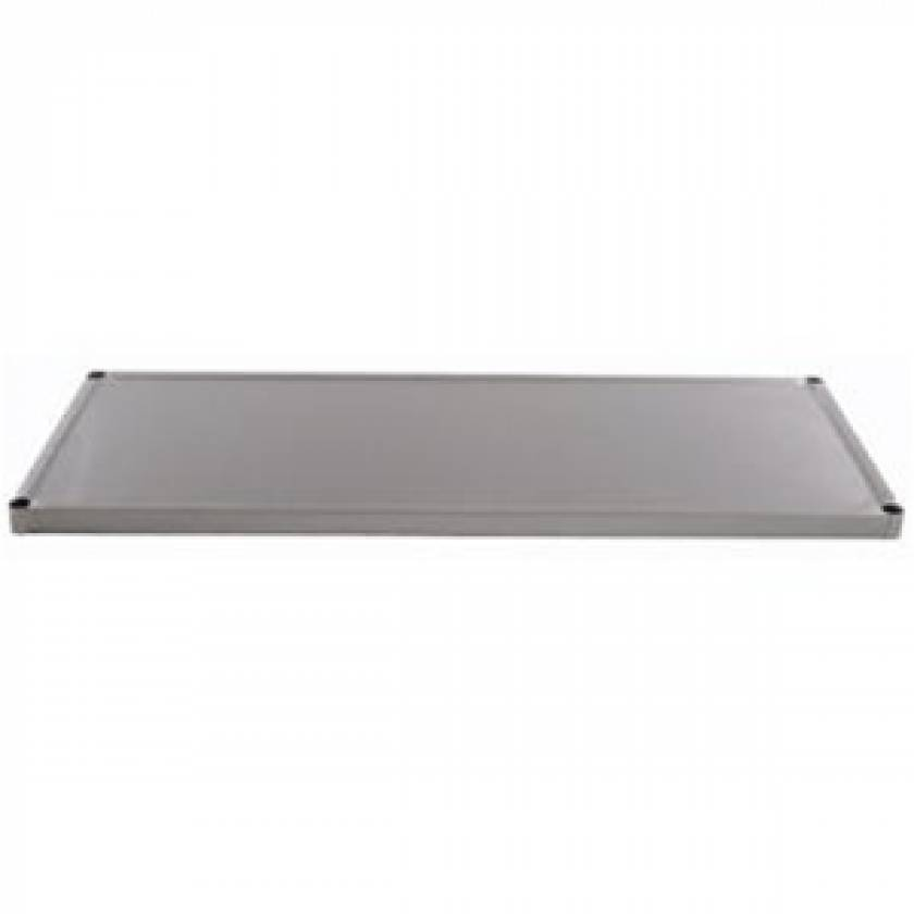 Pedigo Stainless Steel Solid Shelf for CDS-242 and CDS-245 Surgical Carts