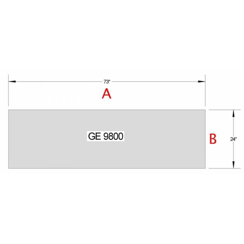GE 9800 Table Pad