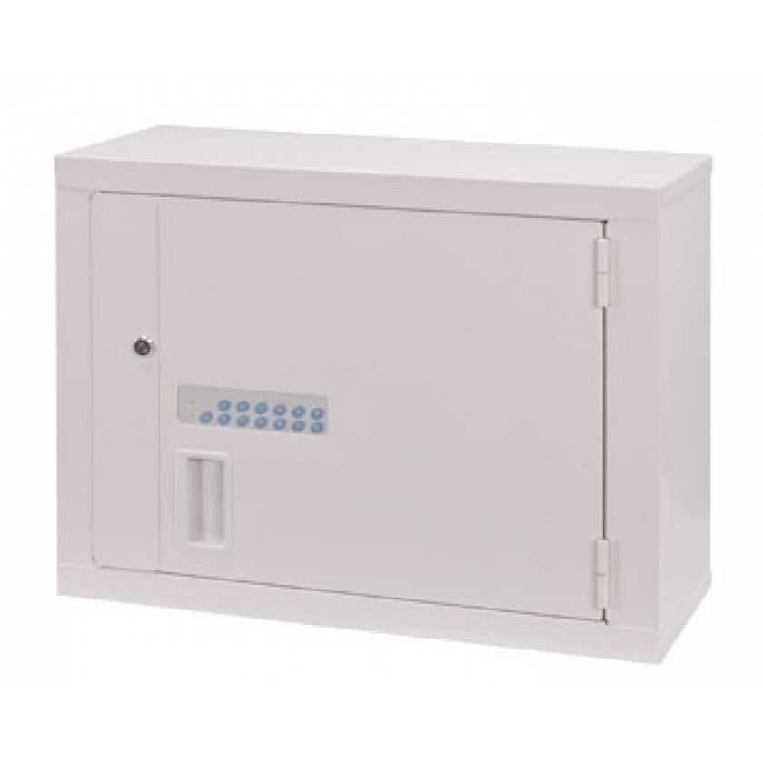 Lakeside High Security Narcotic Cabinet - Electric Lock, 1 Fixed Shelf & 1 Adjustable Shelf