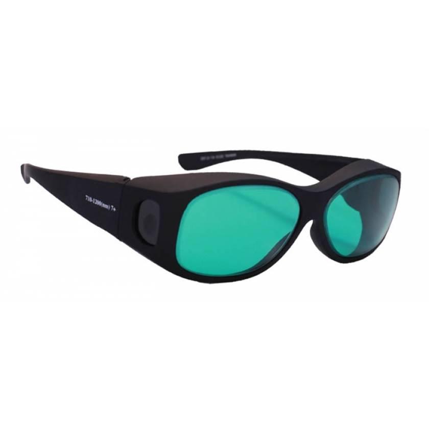 Multiwave YAG Alexandrite Diode Fit-Over Laser Safety Glasses - Model 33