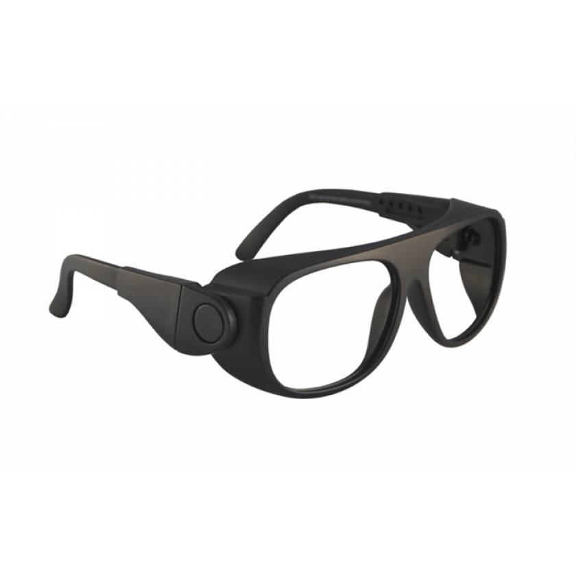 CO2 Excimer Laser Safety Glasses - Model 66 - Black Frame