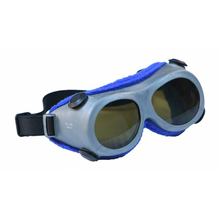 IPL Brown Contrast Enhancement Laser Safety Goggles - Model 55