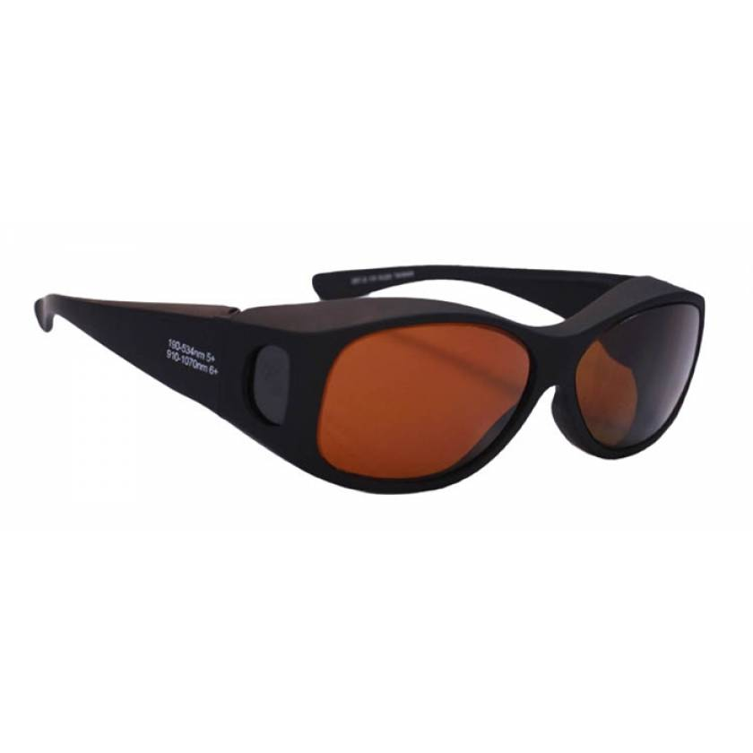 YAG Double Harmonics Fit-Over Laser Safety Glasses - Model 33