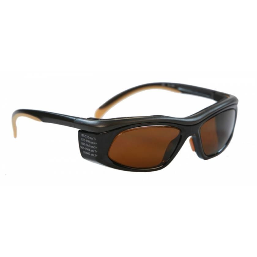 Multiwave YAG Harmonics Alexandrite Diode Laser Safety Glasses - Model 206