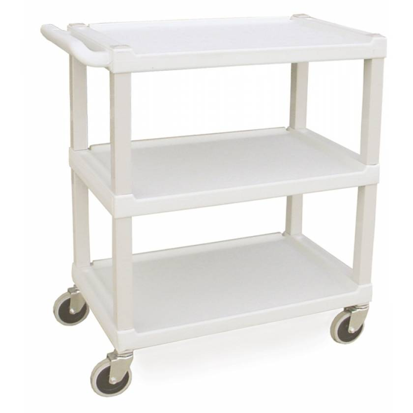 Lakeside Standard Duty Stain Resistant Plastic Utility Cart