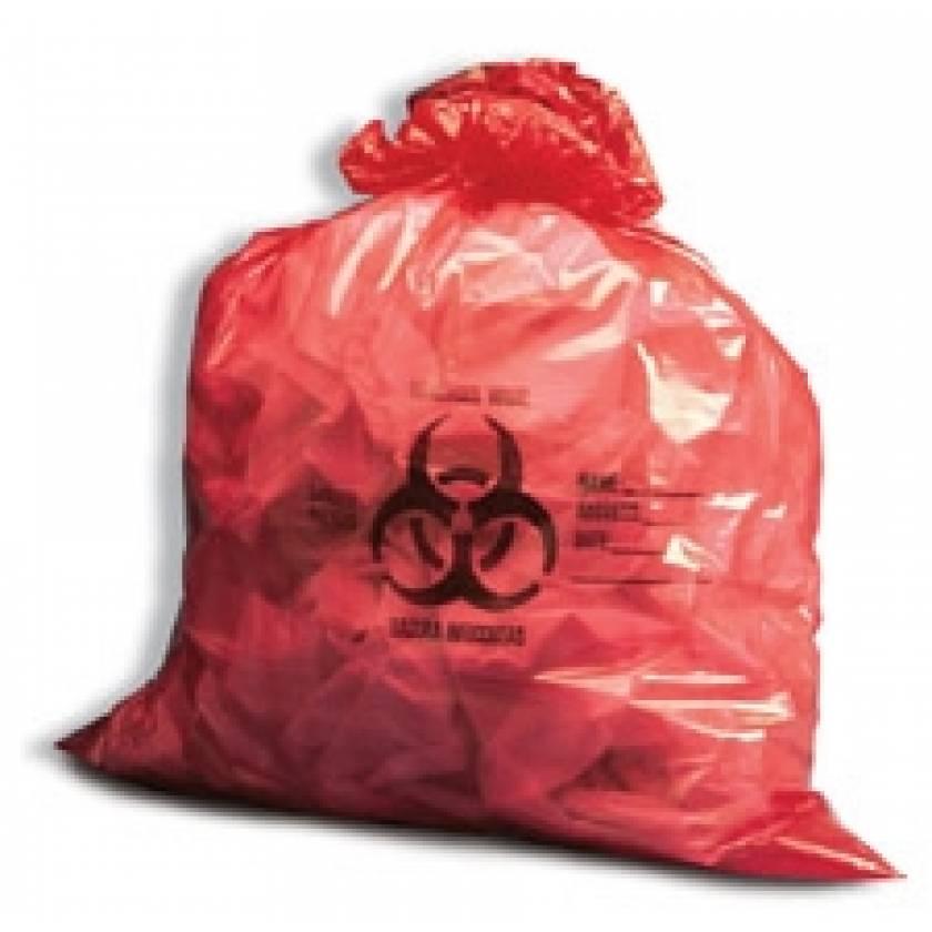 Biohazard Bags - 10 Gallons