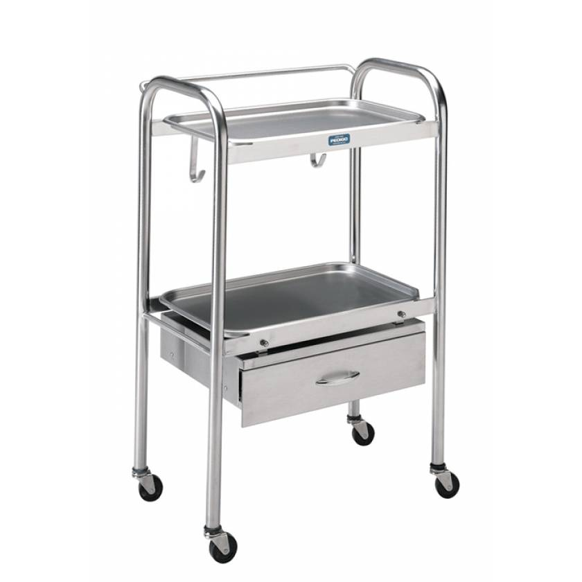 Pedigo Anesthesia Cart With One Drawer