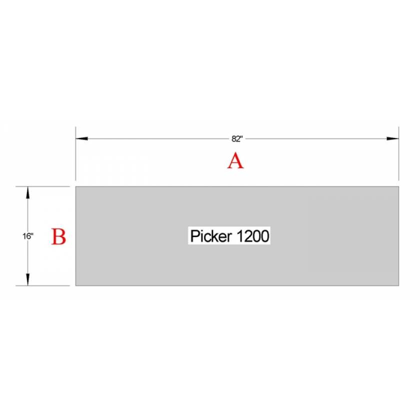 Picker 1200 Table Pad