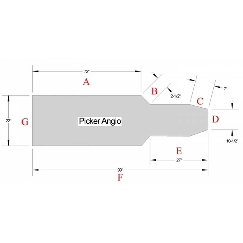 Picker Angio Table Pad