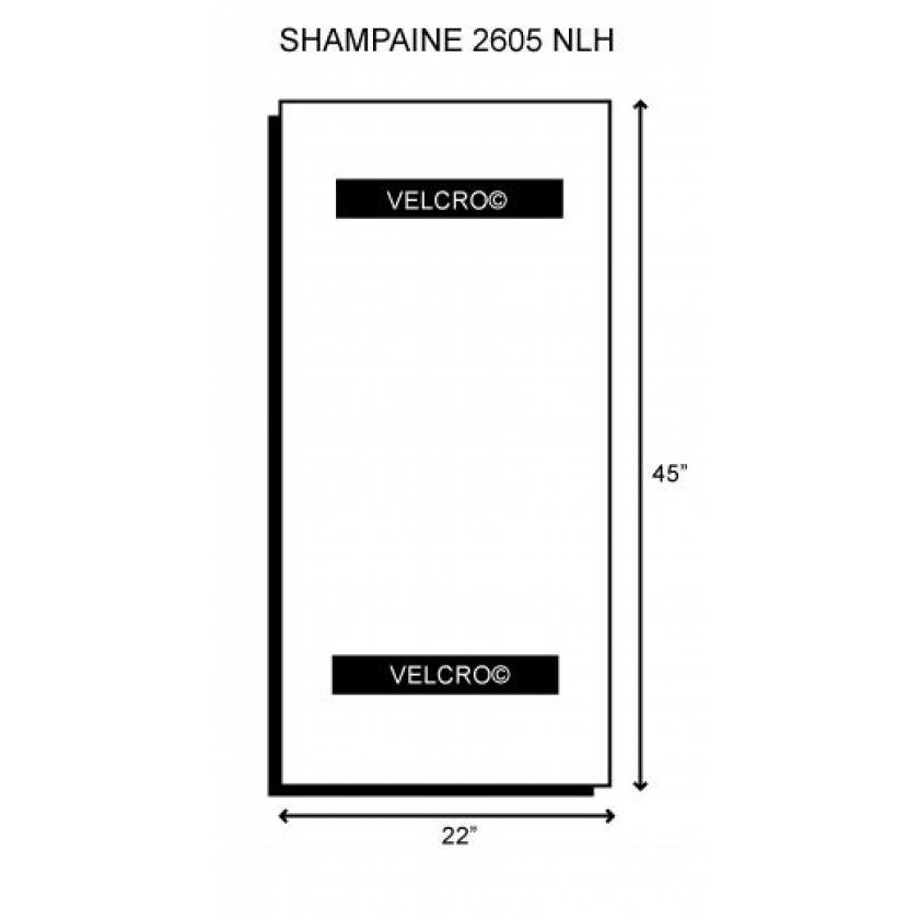 "Shampaine/MDT/Getinge 2605 NLH 006957 Deluxe Body Section 2"" Thick"