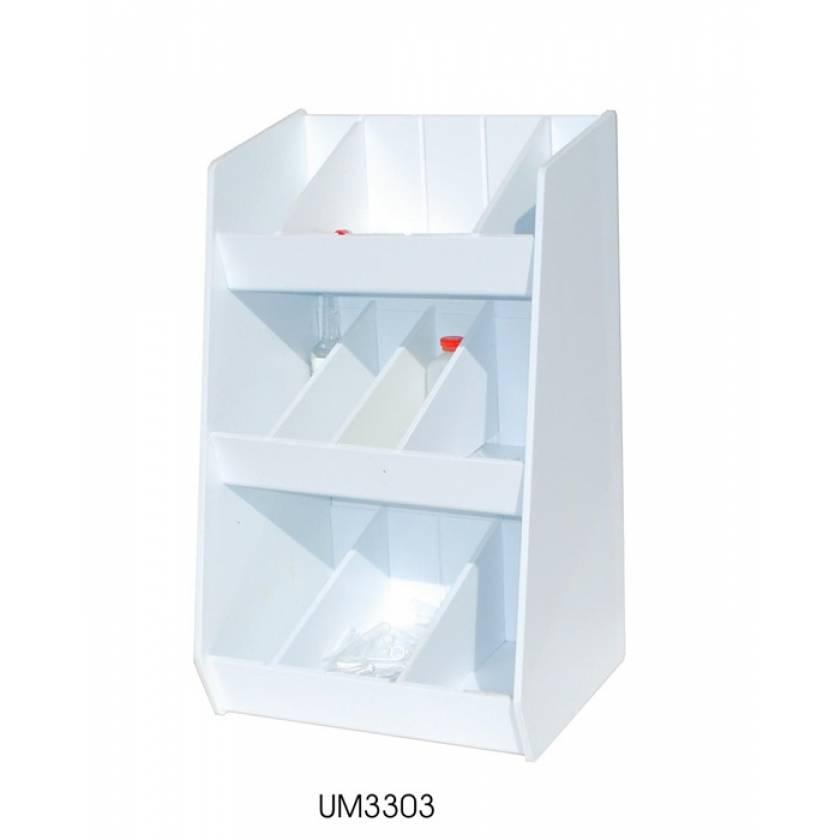Adjustable Storage with Ten Bins
