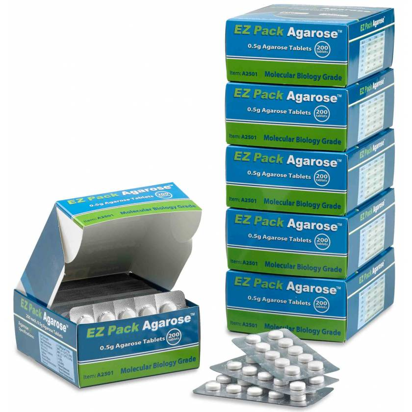 Benchmark Agarose LE - Pack of 1000 x 0.5g Tablets