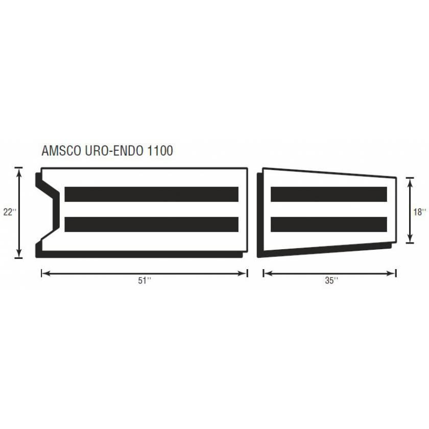 Amsco Uro-Endo 1100 2 Piece Table Pad Set