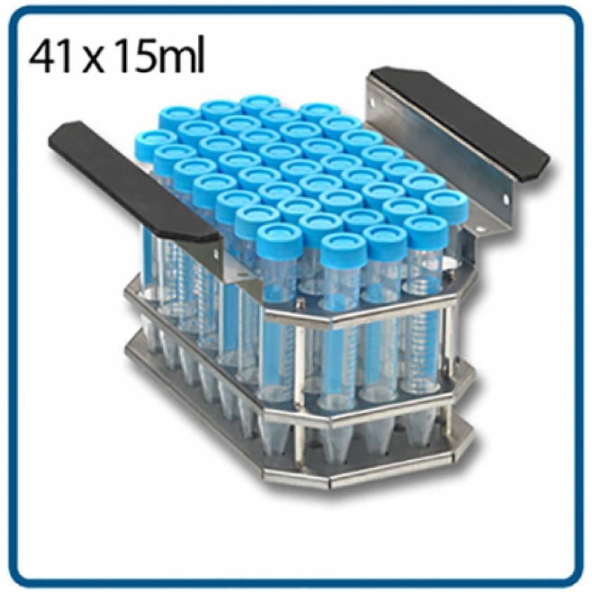 Test Tube Rack for 41 x 15mL Tubes