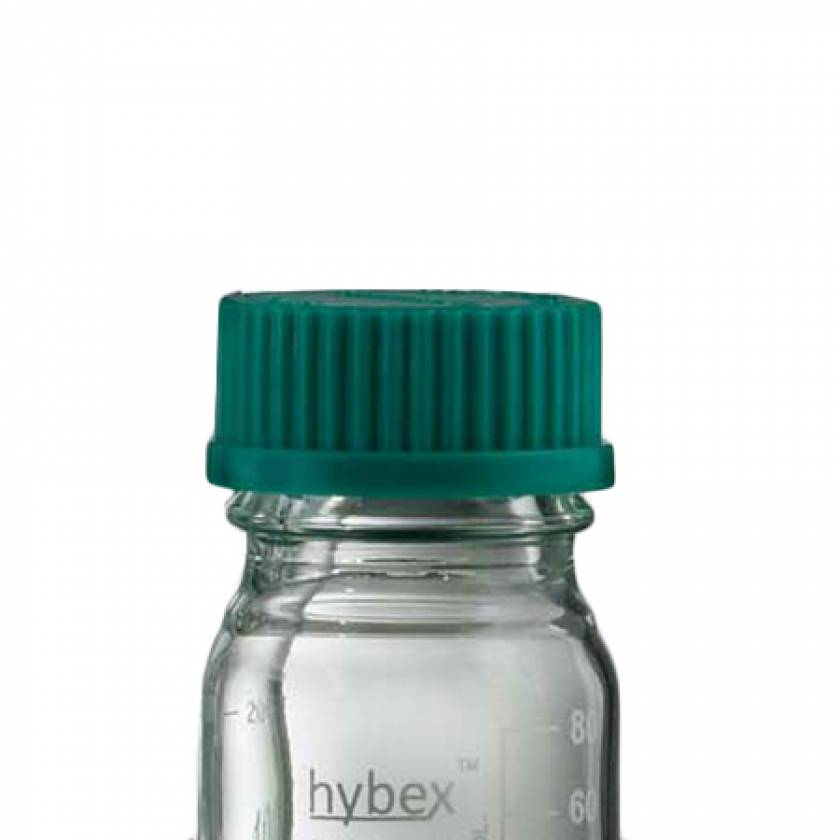 Replacement Green Cap (GL45) For Hybex Media Storage Bottle