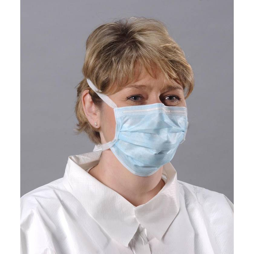 CoolOne Tie Masks with Magic Arch Support - Blue