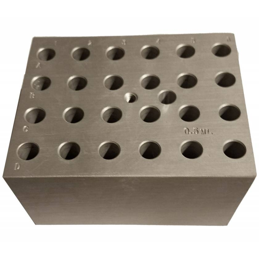 Block For Digital Dry Bath - 24 x 0.5ml Tubes