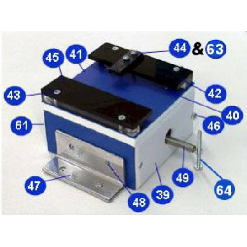 Pigg O Stat Cassette Carrier Replacement Parts