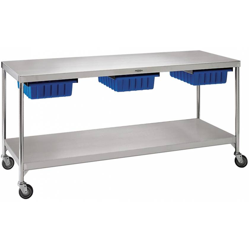 "Pedigo Central Supply Work Table 72"" W x 24"" D x 34"" H"