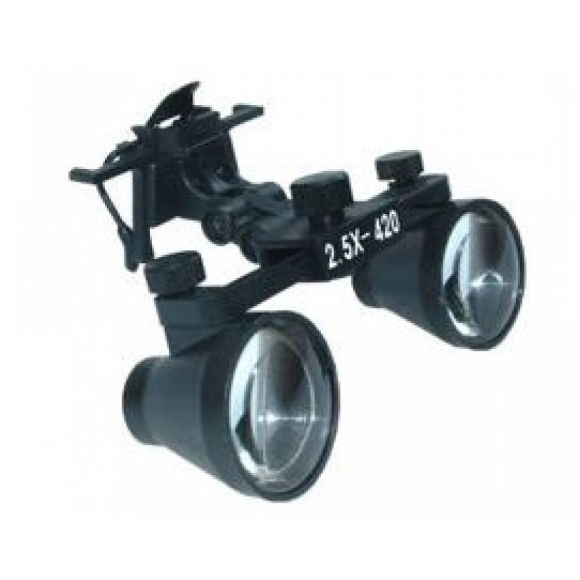 Clip-On Loupe with Case and Accessories
