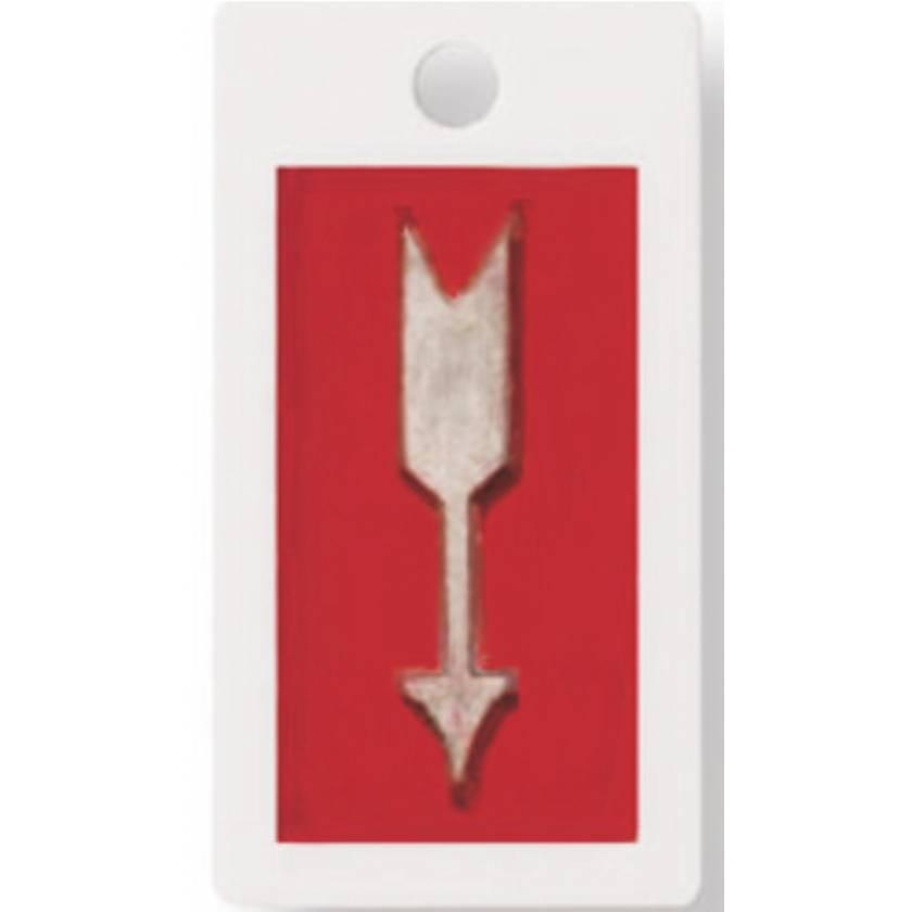"""Embedded Plastic Marker - 1"""" Lead-Free Arrow"""