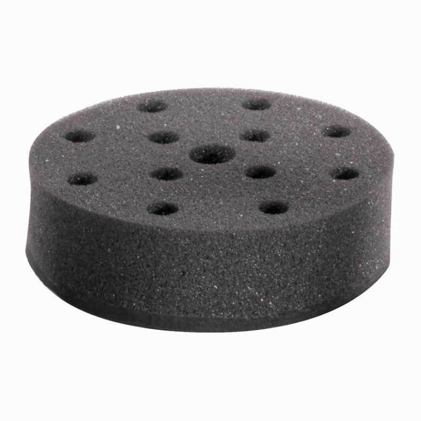 Globe Scientific GVM-AS-ADAPT12 Foam Tube Holder for Use with GVM-AS Vortex Mixer - 12 x 12mm Tubes