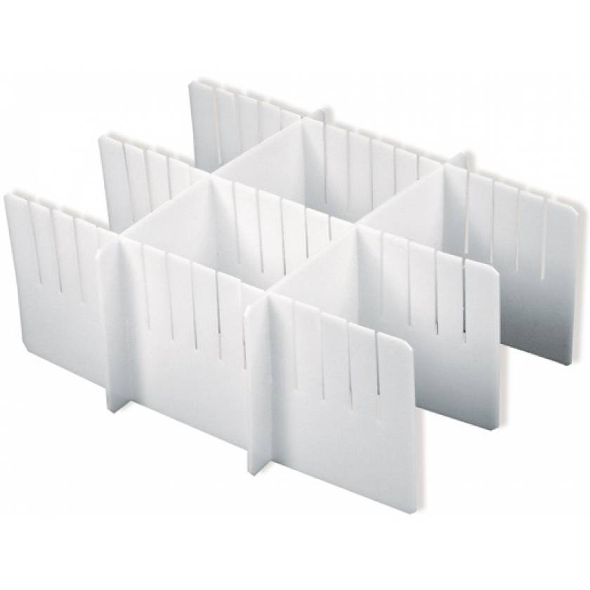 Drawer Divider Set for Classic, Universal and V-Series Carts