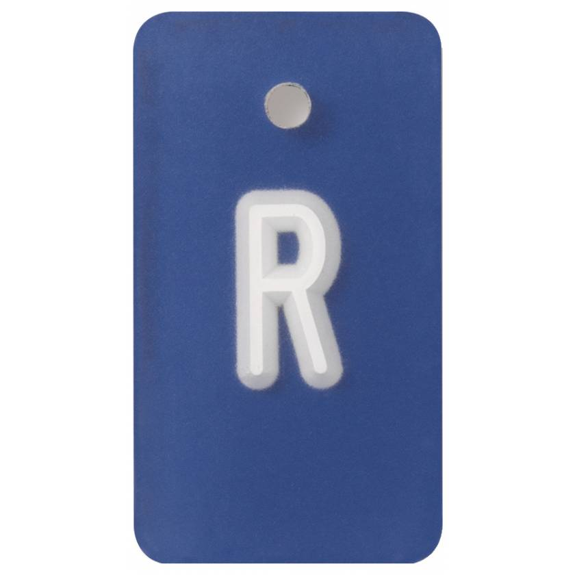"High KvP Marker - 3/4"" ""R"" Legend"