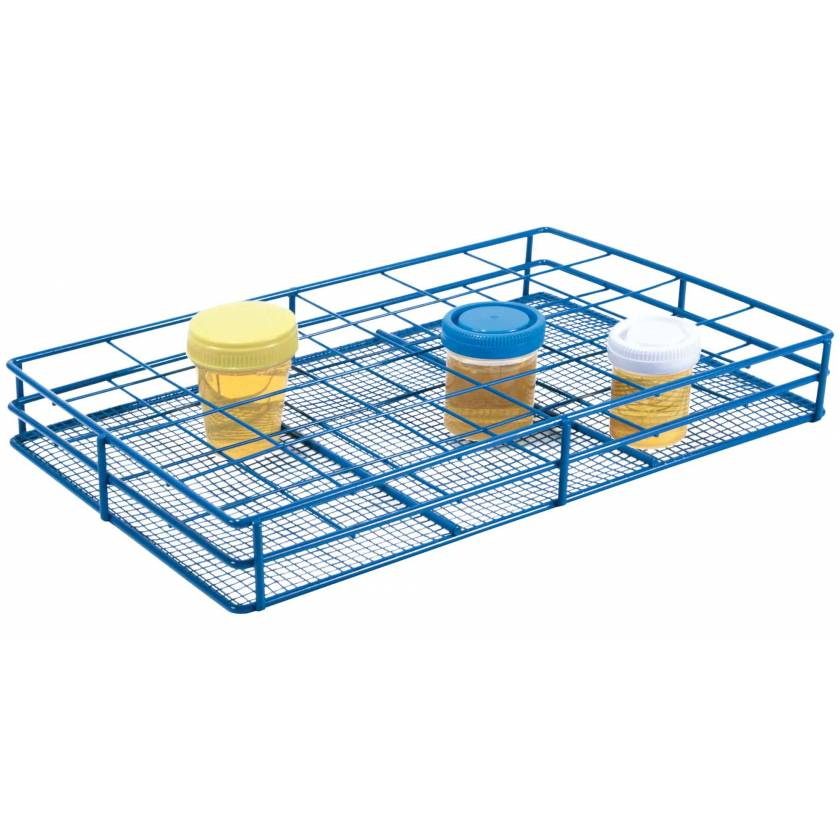 HS Wire Urine Container Rack - 58mm Diameter Well - 6x4 Format