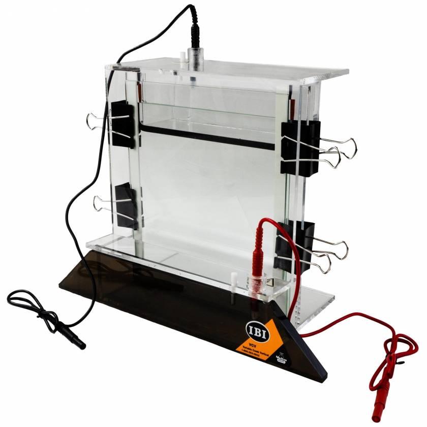 IBI VCV Single-Slab Vertical Electrophoresis System - 18cm x 22cm - Full Assembly