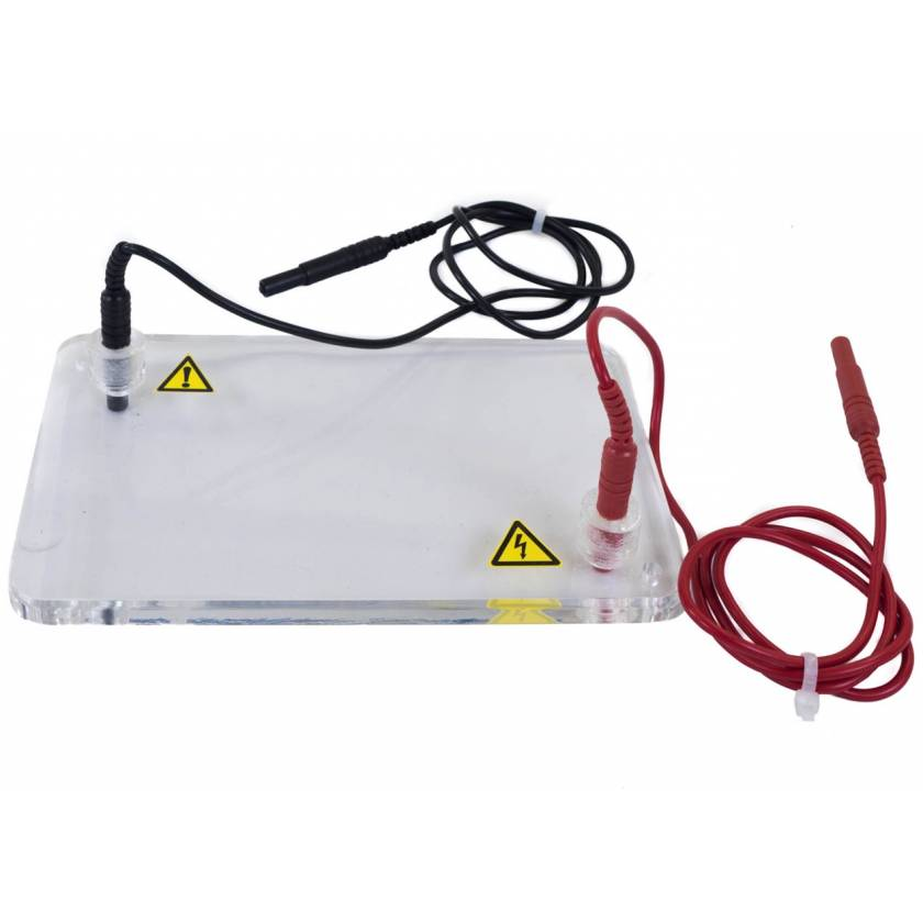 Replacement Lid with Power Cords for JSB-30 Horizontal Electrophoresis System
