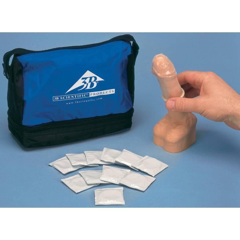 Condom Training Model - White Skin Tone