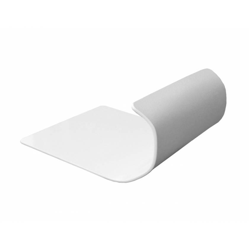 Toboggan Arm & Leg Guards - White ABS