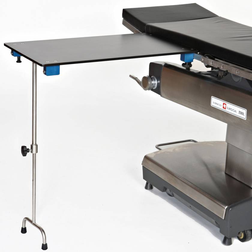 Rectangular Carbon Fiber Arm & Hand Surgery Table with Tee Foot