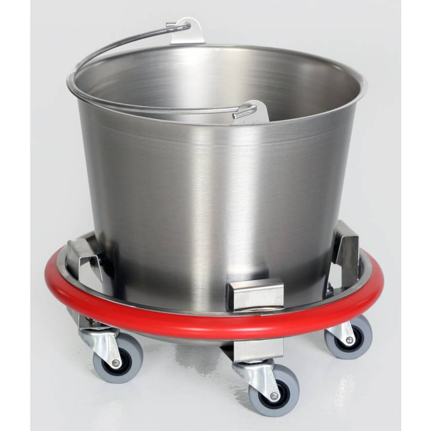 Stainless Steel Kick Bucket with 12 Quart Pail