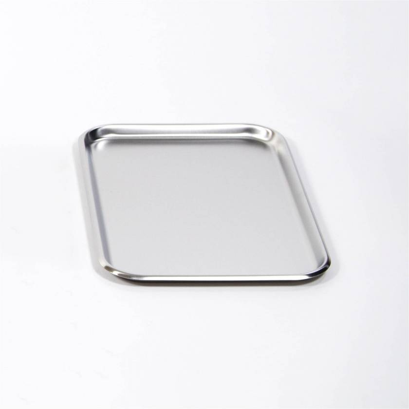"""MCM755 Stainless Steel Mayo Stand Replacement Tray - 12 5/8"""" x 19 1/8"""""""